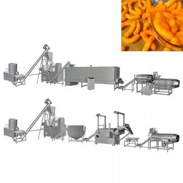 Nik naks cheetos corn curls snacks kurkure making machine