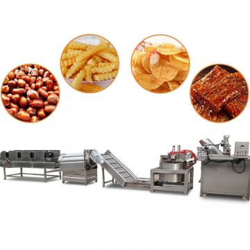 Industrial Automatic Fried Frozen French Fries Maker Potato Crisp Production Line Potato Chips Making Machine for Sale
