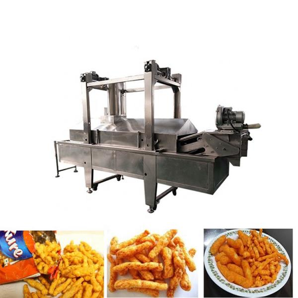 High efficiency corn puff snack extruder rice puffing processing machine Kurkure puffed machine  whatsapp:0086 15039114052